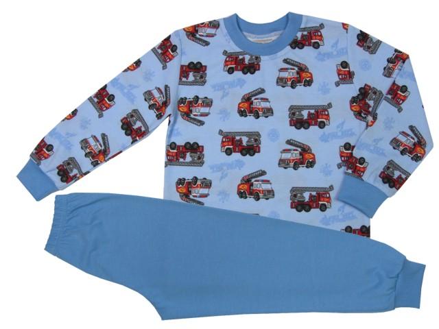 b168e2bdc3b Dětské Pyžamo Hasičské auto JerryJane