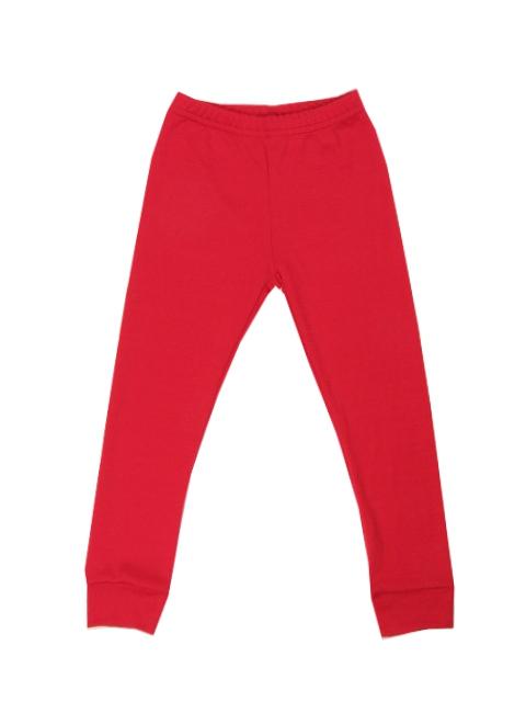 76b60237f04b Dětské červené merino termo kalhoty